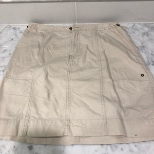 Carribean Joe Tan / Cream Mini Skirt
